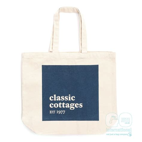 classic cottage classic cottages re branding promotional bag gojute