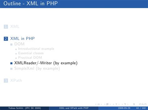 tutorial php xmlreader xml and xpath with php
