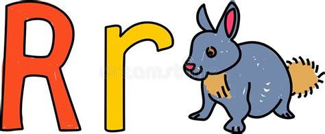 R Rabbit r is for rabbit stock photography image 1172112