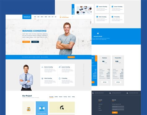 Business Consulting Website Template Free Psd Download Download Psd Business Consulting Website Templates