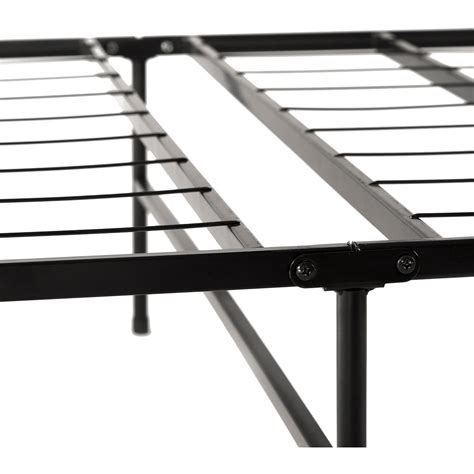steel platform bed frame spa sensations steel platform metal bed frame black