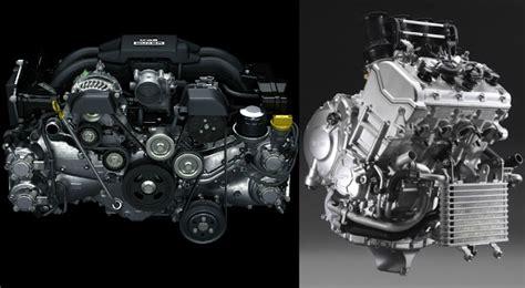motosiklet motoru araba motoru teknik karsilastirma