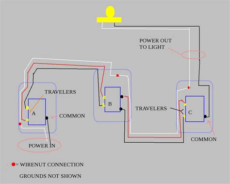 four way switch diagram diagram site