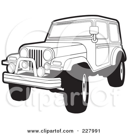 yellow jeep clipart black jeep clipart clipart kid