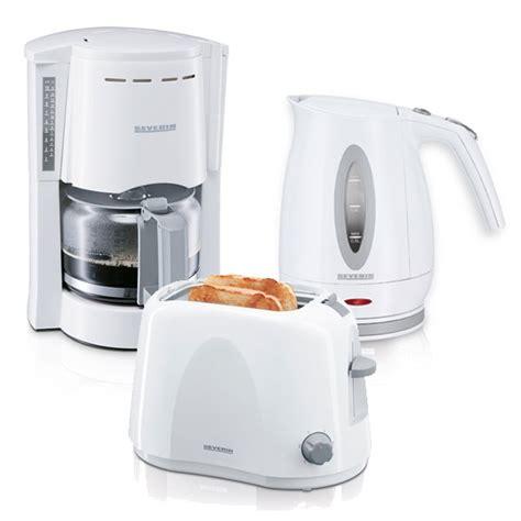 Licht Bad 2583 by Severin Fr 252 Hst 252 Cksset Kaffeeautomat Kaffeemaschine Toaster