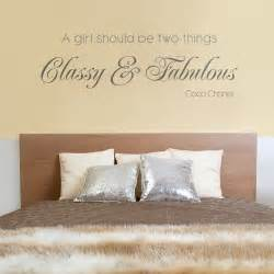 home quotes classy amp fabulous quote wall decals lyrics sticker design available from vunk stickers