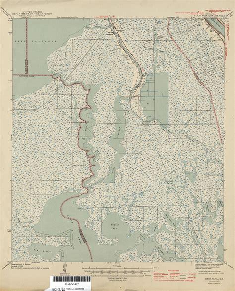 louisiana map collection louisiana topographic maps perry casta 241 eda map