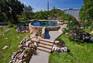 above ground bathtub 20 landscaping ideas for above ground swimming pool home