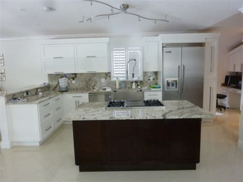 modern white shaker kitchen shaker style cabinetry contemporary kitchen miami