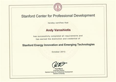 design certificate stanford stanford university energy innovation and emerging