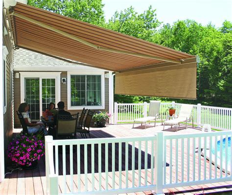 best porch awnings best retractable deck awnings doherty house the best