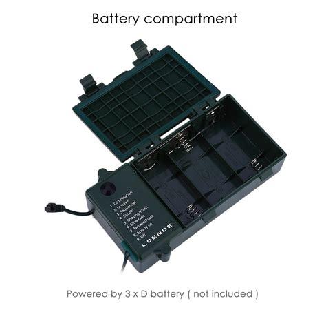 battery powered cl light loende battery powered 8 modes 200 leds string light