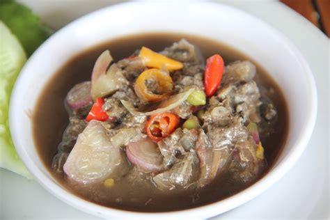 Rusip Pulau Bangka sambal rusip quot ikan fermentasi quot yang menggoda
