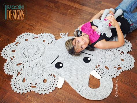 Elephant Rug Pillow Patterns Free by Josefina And Jeffery Elephant Rug Pdf Crochet Pattern