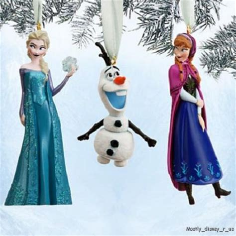 new disney store frozen anna elsa olaf christmas holiday