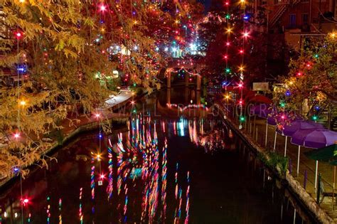 san antonio riverwalk during christmas christmas
