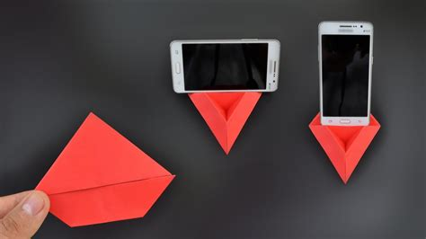 origami phone holder origami phone stand holder 3 0 in