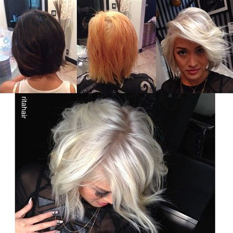 stripping color from hair 513 best hair before after 1 images on