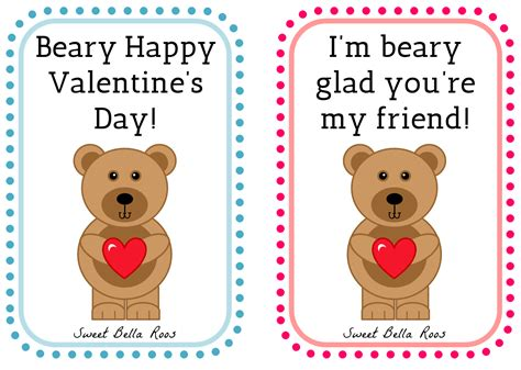 happy valentines day printable s worksheets free beary happy s day