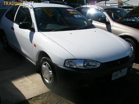mitsubishi mirage hatchback 97 2000 mitsubishi mirage ce 3d hatchback for sale in bendigo