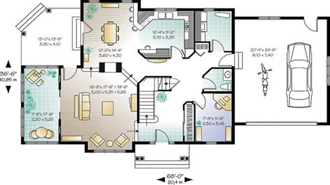 open layout floor plans new home plans with open concept home deco plans