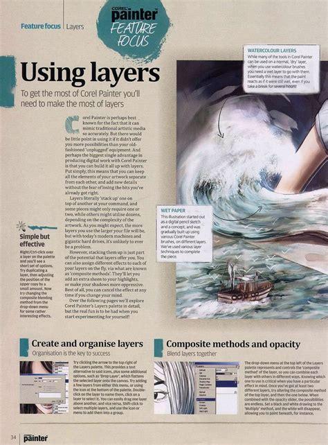 magazine design with corel draw 17 best images about corel painter on pinterest