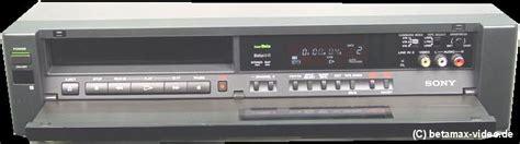 webmaster steckbrief sony sl hf2000 betamax videorecorder