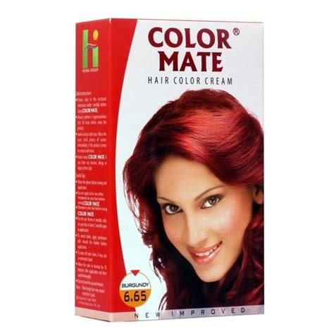color mate color mate hair color burgundy 6 65 buy color mate
