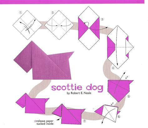 Puppy Origami - henry the castaway scottie origami fiar volume 3