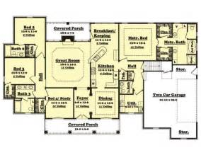 Floor Plans 2500 Square Feet by 2500 Sq Ft House Plan Cedarcrest 25 001 315 From