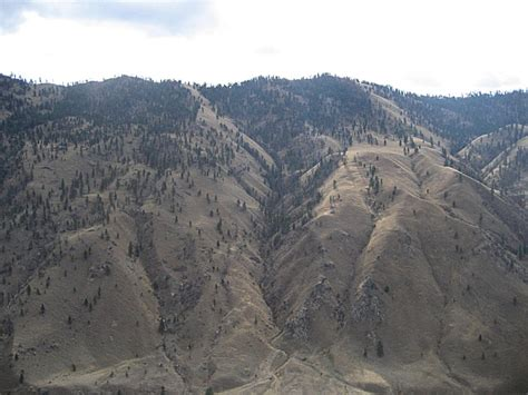 Challis National Forest, an Idaho natlforest