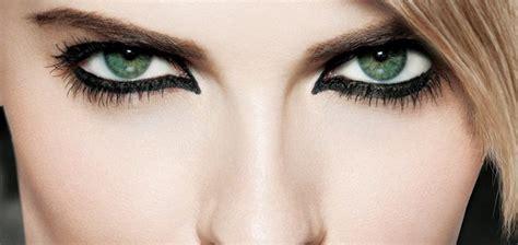 imagenes ojos de mujer estilos de maquillaje de ojos en negro