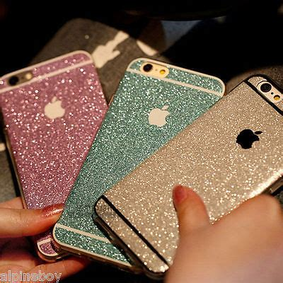 Oppo A39 Glitter Skin Sticker glitter bling sticker protector cover skin for iphone 7 6 5s plus cad 1 22