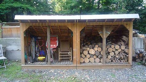 Wood Frame Shed