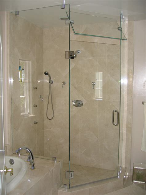 Frameless Steam Shower Doors Installing Custom Shower Doors Virginia Va