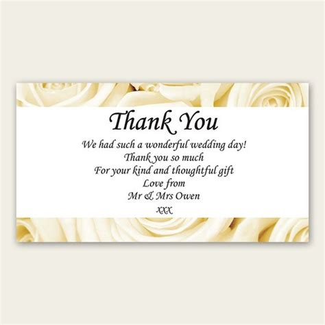 Thank You Card Template Bridal Shower by Wedding Thank You Wording Bridal Shower Thank You