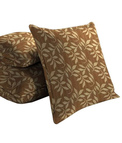Covers For 3 Cushion by Skipper Cushion Covers Pack Of 3 Buy At Best