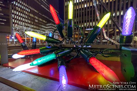 nyc light locations light display along avenue of the americas