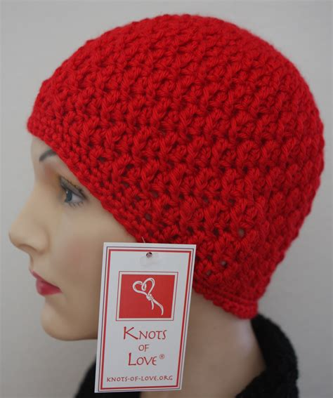 knots of love cancer caps crochet hat patterns cancer patients dancox for
