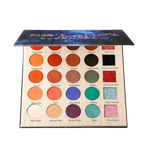 Make Up Palette Sariayu de lanci nocturne eyeshadow pallete professional 25 colors make up palette matte shimmer glitter