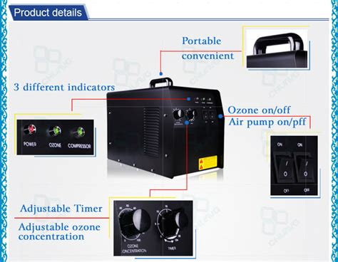 new arrival oxygen source 7g rent ozone generator home