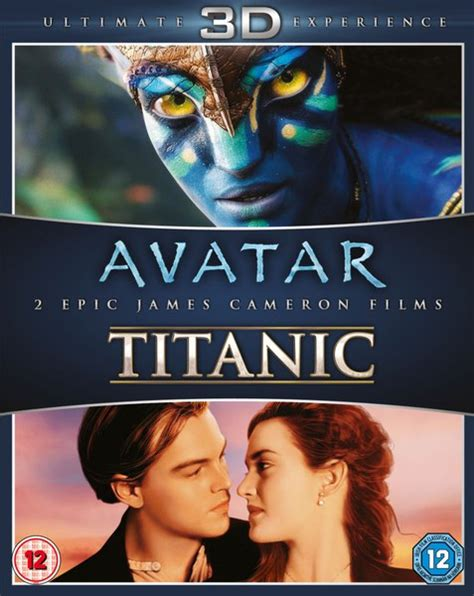 titanic film uk rating avatar 3d titanic 3d blu ray zavvi com