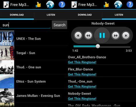 free downloads for android mp3 top 5 des applications android pour t 233 l 233 charger et ecouter de la musique gratuite info24android