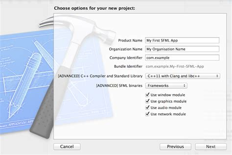 Create Xcode Template by Sfml And Xcode Mac Os X Sfml Learn 2 3 Tutorials