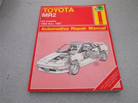 service manual hayes car manuals 2002 toyota mr2 engine control service manual how cars work buy haynes toyota mr2 1985 1986 1987 owner s workshop all models repair manual motorcycle in