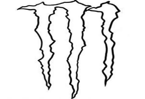 monster energy drink logo vector clipart best