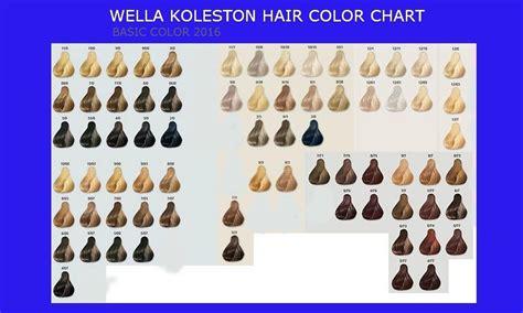 wella koleston color chart wella koleston color chart world of printable