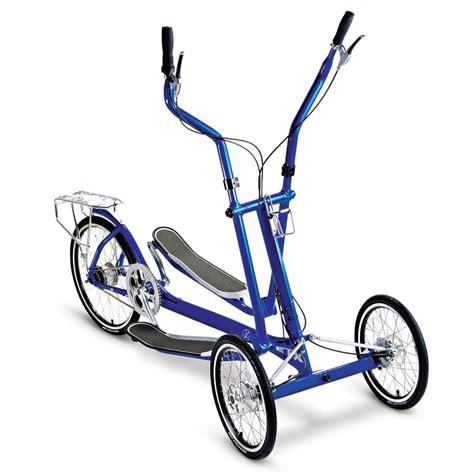 Elliptical Bike the elliptical bicycle hammacher schlemmer