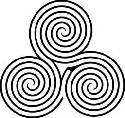 triple spiral labyrinth clip art at clker com vector