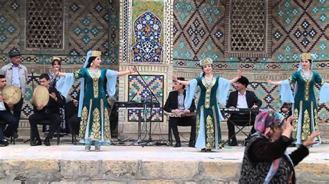 uzbek traditional music and dance in bukhara 1 navruz nowruz dance in bukhara uzbekistan youtube